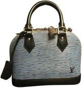 Louis Vuitton Alma Bb Leather Crossbody Bag