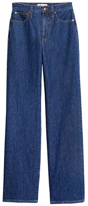 Madewell Slim Wide Leg Full-Length Jeans in Birley Wash (Birley Wash) Women's Jeans