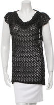 Missoni Metallic-Accented Knit Top