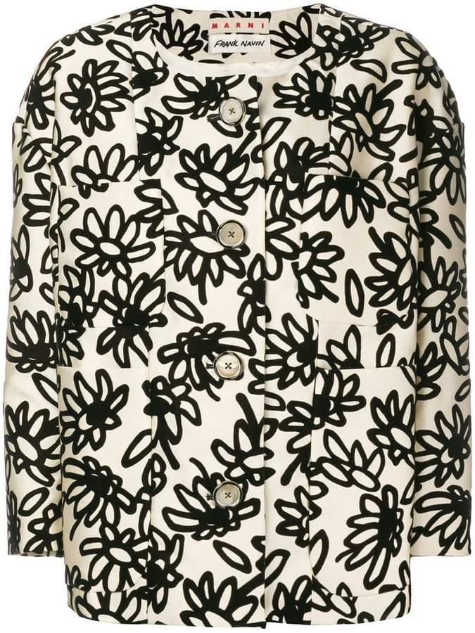 Marni floral jacket