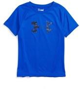 Under Armour Digiblur Logo Graphic HeatGear ® T-Shirt (Toddler Boys & Little Boys)
