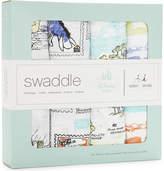 Aden Anais Aden + Anais Set of four Winnie The Pooh swaddles