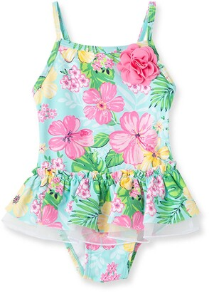 Little Me Tropical Swimsuit