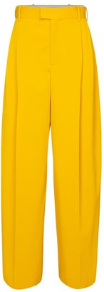 Bottega Veneta High-rise wide-leg wool pants