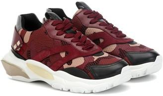 Valentino Bounce camo sneakers