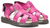 Dr. Martens Pink Moby Infant Fisherman Sandals
