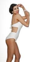 Nicolita Swimwear - Knotty Nicolita One Piece Swimsuit With Knotty Back White