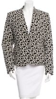 Joseph Printed Notch-Lapel Blazer w/ Tags