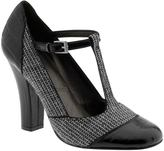 Women: Tahari Katrina - Black and white tweed