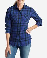 Eddie Bauer Women's Stine's Favorite Flannel Shirt - Plaid