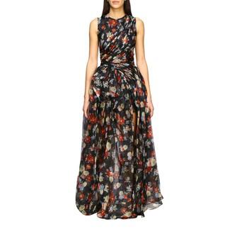 Ermanno Scervino Dress Long Dress In Printed Silk