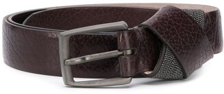 Brunello Cucinelli Knot Detail Buckle Belt