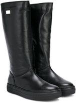 Dolce & Gabbana high slip-on boots