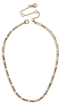 BaubleBar Figaro Link Choker Necklace, 13-16