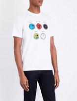 Paul Smith World Clock cotton-jersey T-shirt