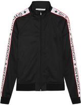 Givenchy Printed Satin-jersey Sweatshirt - FR38