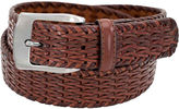 Stacy Adams Braided Leather Belt