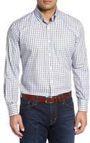 Peter Millar Men's Big & Tall Regular Fit Crisp Pane Sport Shirt