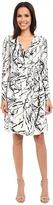 Christin Michaels Emily Wrap Dress