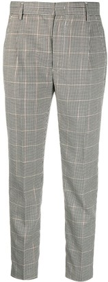 Dondup Prince of Wales check trousers