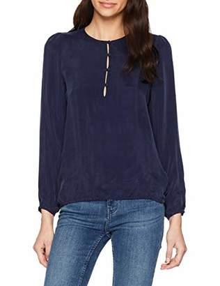 Seidensticker Women's Shirtbluse Langarm Modern fit uni Blouse