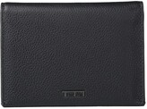 Tumi Nassau L-Fold Wallet (Black Textured) Wallet