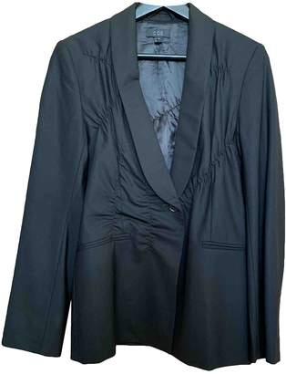 Cos Black Wool Jacket for Women