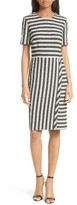 BOSS Women's Haripela Stripe Sheath Dress