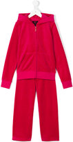 Juicy Couture sequin embellished tracksuit - kids - Cotton/Polyester - 3 yrs