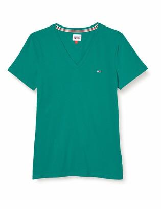 Tommy Jeans Women's TJW Slim Jersey VN Shortsleeve T-Shirt