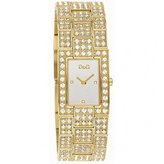 Dolce & Gabbana Women's DW0007 Gold Stainless-Steel Quartz Watch with Dial