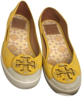 Tory Burch Yellow Rubber Flats
