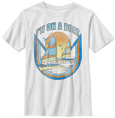 Fifth Sun White Boat Dock Tee - Boys