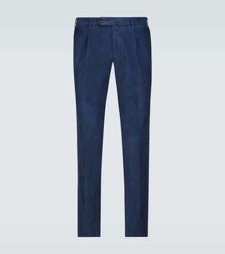 Incotex Slim-fit corduroy pants