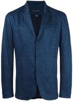 John Varvatos hook and bar blazer - men - Cotton/Linen/Flax - 50