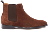 Ps By Paul Smith Gerald Suede Chelsea Boots Snuff