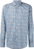 Glanshirt floral print shirt
