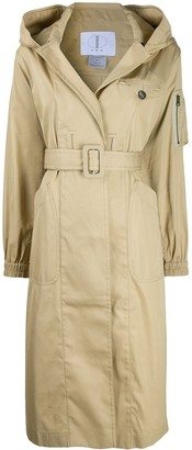 TRE by Natalie Ratabesi Gaia trench coat