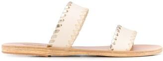Ancient Greek Sandals Melia whipstitched sandals