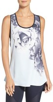 Ted Baker Women's 'Blue Bloom' Knot Racerback Tank