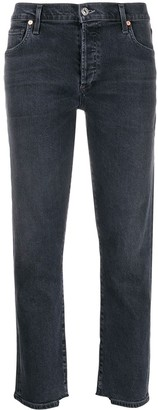 Citizens of Humanity distressed cuffs cropped jeans