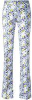 Giamba floral print trousers - women - Cotton/Spandex/Elastane - 38