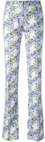Giamba floral print trousers