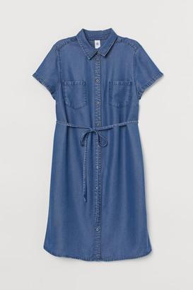 H&M MAMA Lyocell Denim Dress