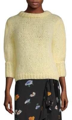 Ganni Julliard Mohair-Blend Sweater