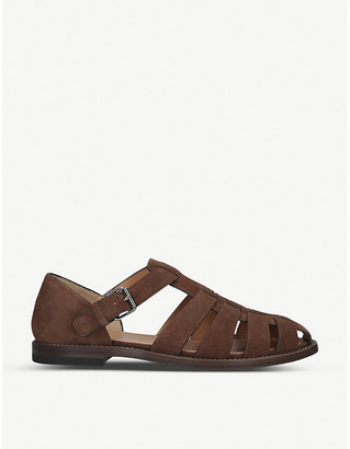 Church's Fisherman suede sandals