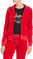 Juicy Couture Logo Velour Track Jacket
