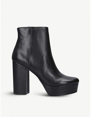 Steve Madden Gratify heeled leather ankle boots