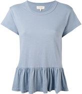 The Great peplum T-shirt - women - Cotton - XS