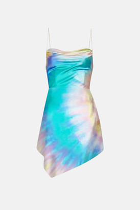 Stone Island Retrofete Multi Tie Dye Auris Dress
